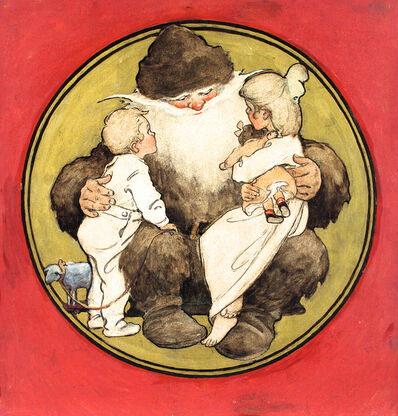 JESSIE WILLCOX SMITH, 'Twas The Night Before Christmas', 1912