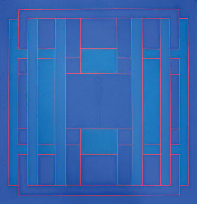 Peter Stroud, 'Untitled, Blue', 1972
