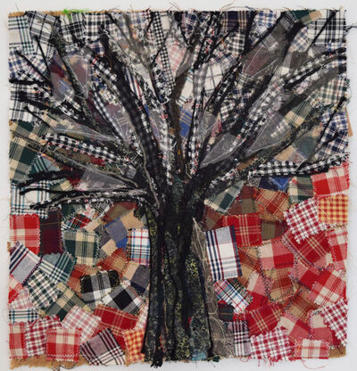 Alyson Vega, 'Tartan Tree', 2018