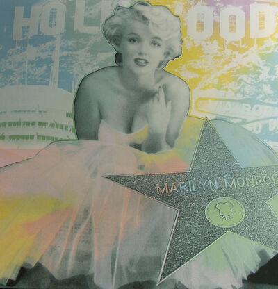 Steve Kaufman, 'Marilyn - Hollywood Star', 2008