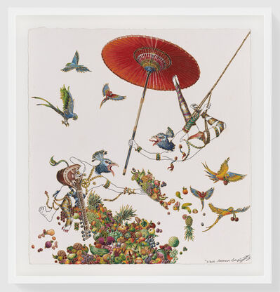 Raqib Shaw, 'Kyoto Summer Song', 2018