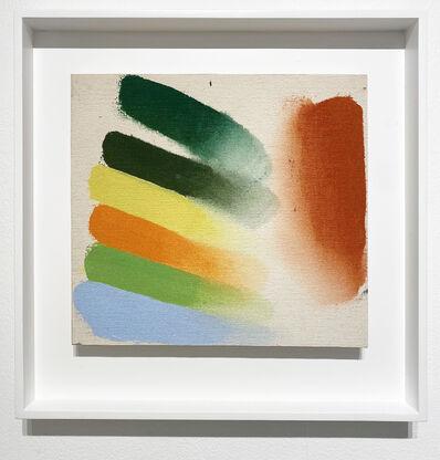 Friedel Dzubas (1915-1994), 'Tuscan (Sketch)', 1973