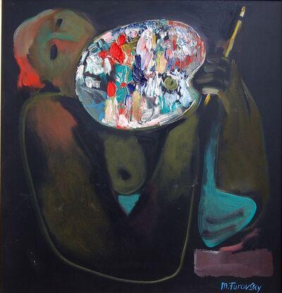 Mikhail Turovsky, 'Model and Palette', 2016