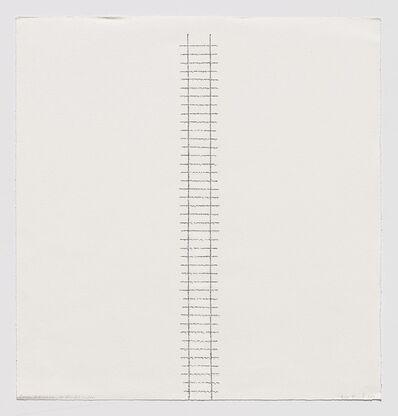 Edda Renouf, 'Dawn Entrance or Jacob's Ladder', 2011