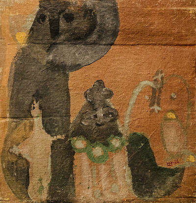 Marlen Spindler, 'Escape to Egypt ', 1967
