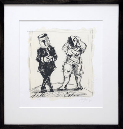 William Kentridge, 'Lulu & Schön.', 2017