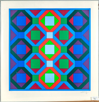 Victor Vasarely, 'Octogonal structures', 1969