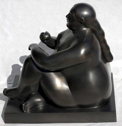 Fernando Botero, 'Donna Seduta con Mela (Woman Sitting With Apple)', 2011