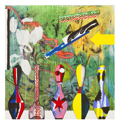 Charline von Heyl, 'Plato's Pharmacy', 2015