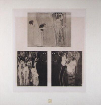 Gustav Klimt, 'Fragments of Beethoven Frieze (1) [Das Werk Gustav Klimts]', 1914