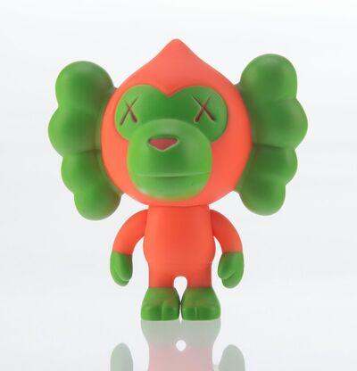 KAWS X BAPE, 'Baby Milo (Pink/Green)', 2005
