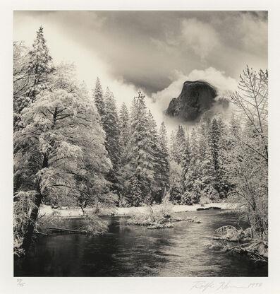 Rolfe Horn, 'Half Dome, Merced River, Yosemite, CA', 1998