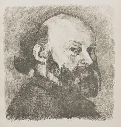 Édouard Vuillard, 'Portrait de Cézanne', 1914