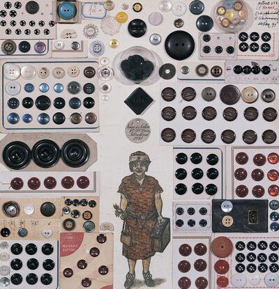Yuksel Arslan, 'Arture 427, Schizophrénie - Collectionneuse, l'Homme', 1991