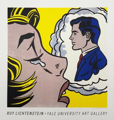 Roy Lichtenstein, 'Yale University Art Gallery (Thinking of Him)', 1991