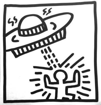 Keith Haring, 'Coloring Book Drawings', 1982