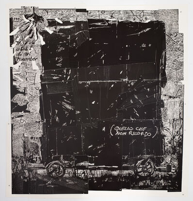 William Kentridge, 'That which I do not remember', 2017