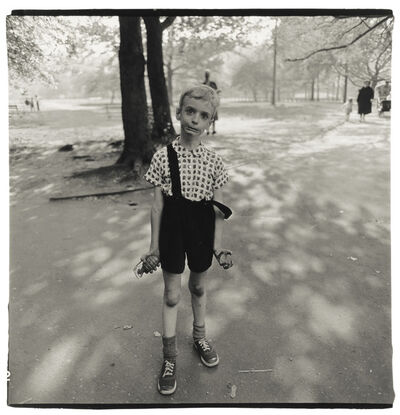Diane Arbus, 'Exasperated Boy with a Toy Hand Grenade in Central Park, NYC', 1962