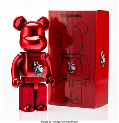 BE@RBRICK X Project 1/6, 'Centurion 400% (Red)', 2014