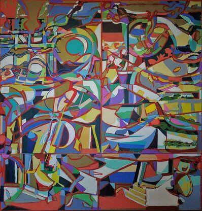 George Schulman, 'Koda (triptych)', 2021
