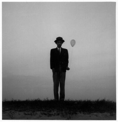 Shoji Ueda, 'Self-portrait with a Balloon', c. 1948