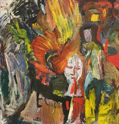 Erland Cullberg, 'Fågelskrämma', 1975