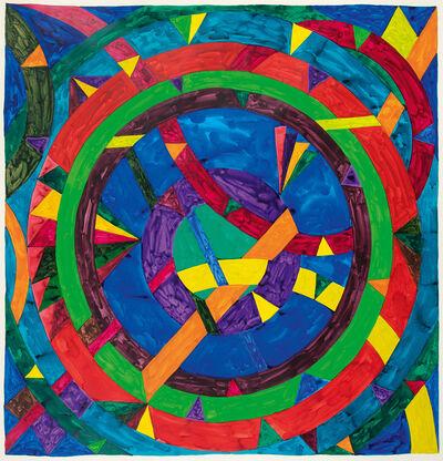 William T. Williams, 'Flagstone', 1970