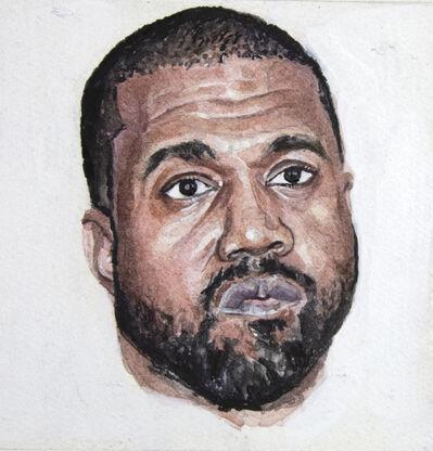 William Powhida, 'Kanye West (Third-Party Candidate)', 2020