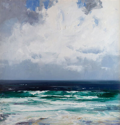 Ken Knight, 'The Pounding of the Swell against the Land's Edge'
