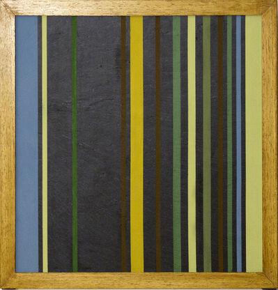 Elio Marchegiani, 'Grammature di colore. Supporto lavagna n.1', 1978