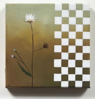 Astrid Preston, 'Flower with Checkerboard', 2019