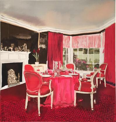 Liz Markus, 'David Hicks Yorkshire Dining Room', 2016