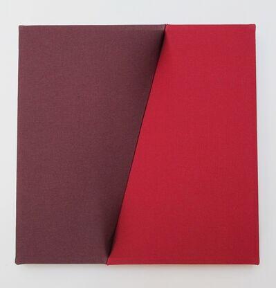 Nobuko Watanabe, 'wine red and red', 2016