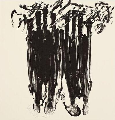 Günther Uecker, 'Hiob Seite 45', Unknown