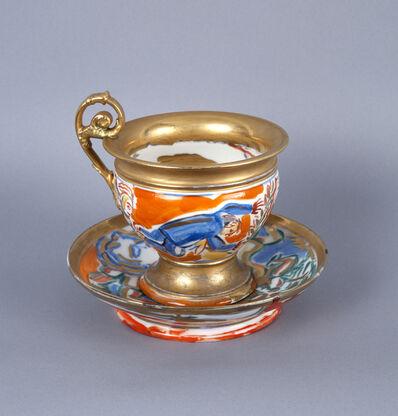 Viola Frey, 'Untitled (Cup and Saucer) A la Manufacture de Sevres Series', 1986