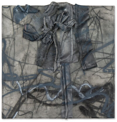 Deborah Winiarski, 'Untitled No. 1: Black and Grey', 2015