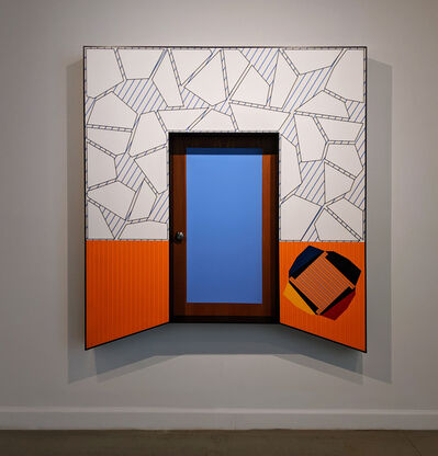 Alan Steele, 'Untitled: Blue Portal', ca. 2011