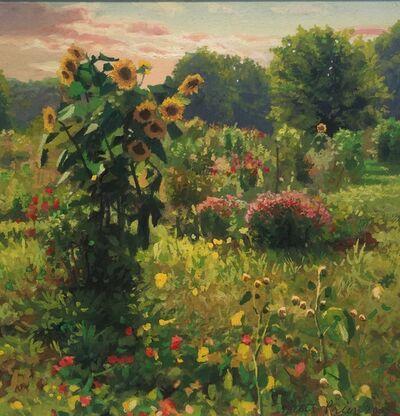 Scott Prior, 'Sunflowers', 2005