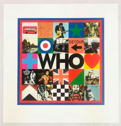 Peter Blake, 'The Who', 2019