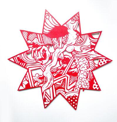 Kenichi Yokono, '12 zodiac animal signs - dragon's back', 2017