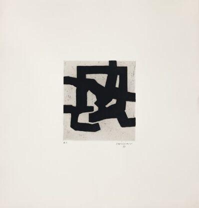 Eduardo Chillida, 'Gezna II', 1969