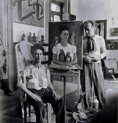 "Nickolas Muray, 'Frida Painting ""Me and My Parrots""', 1941"