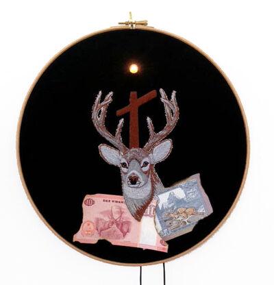 Art Orienté Objet, 'L'esprit du chasseur, Trop tard, Les écailles me tombèrent des yeux', 2014