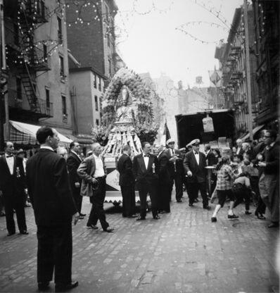 Arthur King, 'San Gennaro, Little Italy, New York City', 1958
