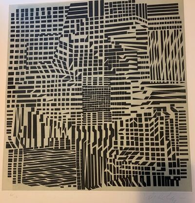 "Victor Vasarely, '""Korna"" - Posi', 1976"
