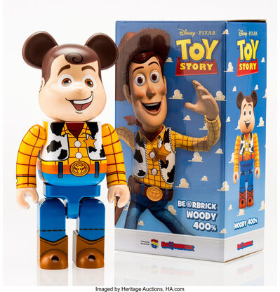 BE@RBRICK X Disney, 'Woody 400%, from Toy Story', 2015