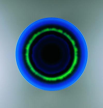 Tokuda Yasokichi III, 'Plate Getsurin (Eclipse)', 2006