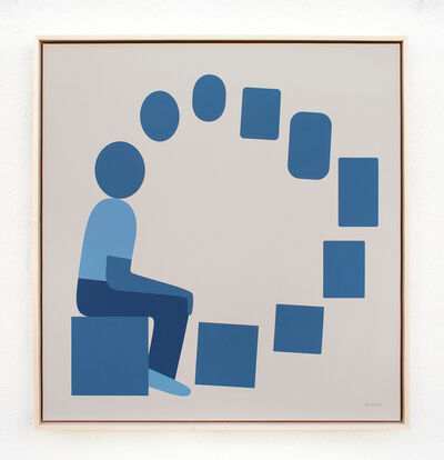 Geoff McFetridge, 'Image Based Gamelan 4: The Artist as a Bridge', 2020