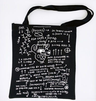 "Jean-Michel Basquiat, 'Flat Canvas Tote ""Sea Monster, 1983""', 2010-2019"