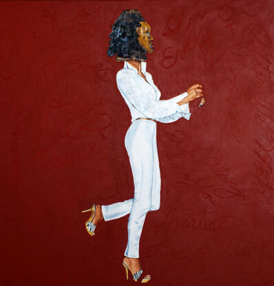 Margaret Rose Vendryes, 'Ekoi Whitney - Whitney Houston', 2010